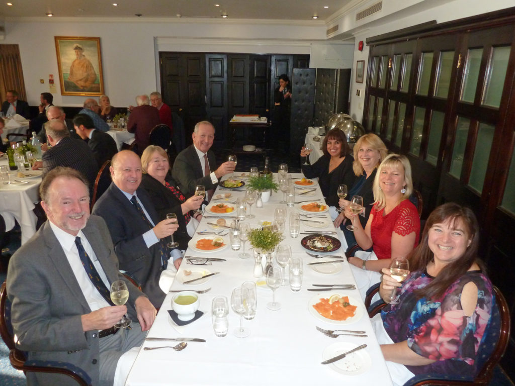 2018 Dec CLC: committee Christmas lunch