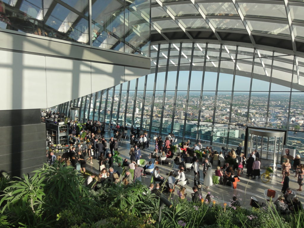 Sky gardens in Walkie Talkie